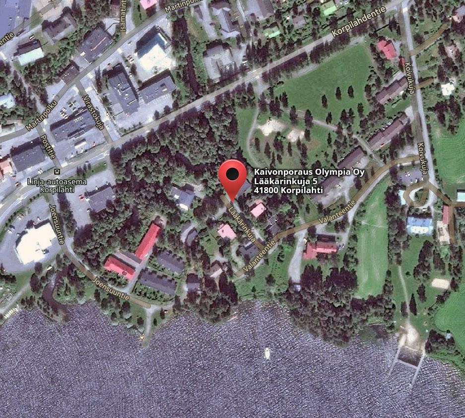 kaivonporaus-olympia-kartta
